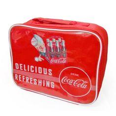 Bolsa térmica da Coca-Cola cooler bag em PVC R$45.60