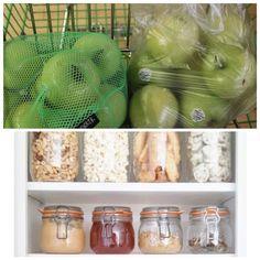 Reduce el uso de plástico usando bolsas y envases reutilizables! #zerowaste #reuse #glassissexy #toxinfree #pequeñoscambios ♻️🌎