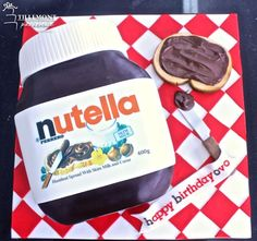 Nutella Jar 3D Fun Cakes | Patisserie Tillemont | Montreal -