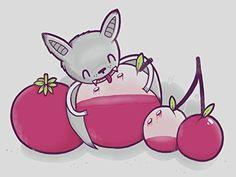 'Fruit Bat' Mashup Humor 24x18 - Vinyl Print Poster
