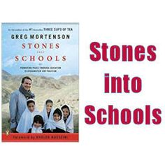 Stones Into Schools - A Positive Step For Peace and Education Education And Literacy, Inspirational Books, Afghanistan, Schools, Pakistan, Stones, Positivity, Peace, Writing