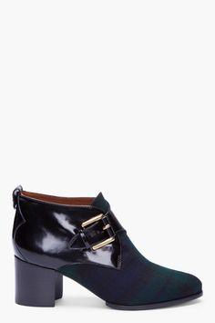Fantastic tartan ankle boots from Mcq Alexander Mcqueen
