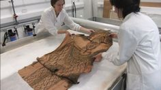 A unique, full-length mummy shroud which is over 2,000 years old is discovered in National Museums Scotland collections.