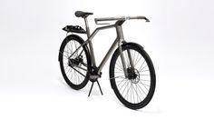 Bicicleta de titânio criada por impressora 3D inova com GPS integrado
