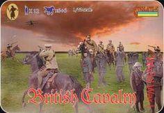 British Cavalry 12 1/72