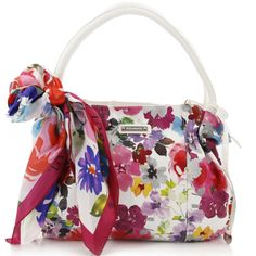 Bulaggi - Feminine Flair - Energy Balance -Satchel Flower wit - Tassen-mode-nieuws