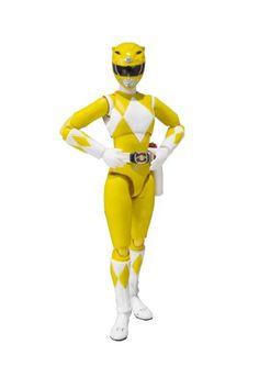 "Bandai Tamashii Nations S.H.Figuarts Yellow Ranger ""Mighty Morphin Power Rangers"" Action Figure Bandai,http://www.amazon.com/dp/B00I2KAVB8/ref=cm_sw_r_pi_dp_ajJttb0V18A6ECMA"