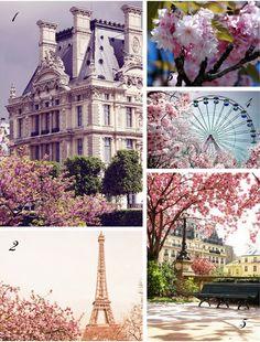 Springtime in Paris @Etsy Wedding Team