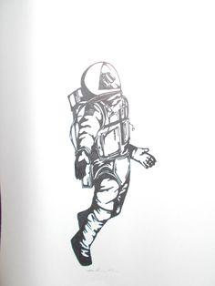 astronaut illustration - Buscar con Google