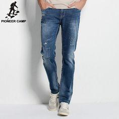 Autumn new arrival men jeans fashion casual men pants breathable cotton elastic jeans for men