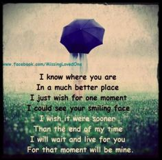 I will wait and live for you...