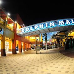 Dolphin Mall - Allapattah Shopping Malls - Go shopping at Dolphin Mall offers more than 240 retail shops, plus a food court, theater and bowling alley