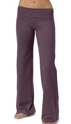 "This eco-friendly, full-length pant is fitted in the waist with fullness through the legs and has a fold-over waistband. Approximately 32"" inseam.  RENEW ELITE COLLECTION: 88% recycled poly/12% Spandex – soft, supportive, stretchy fabric that is eco-friendly"
