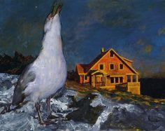 Jamie Wyeth, Rockwell Kent and Monhegan - at the Farnsworth Museum through December 30, 2012!