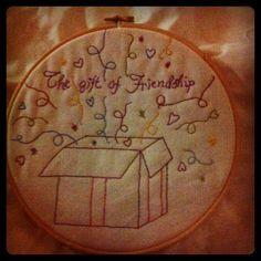 Wild Olive: friendship week: talia's friendship pattern--Free embroidery pattern