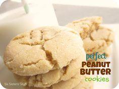 Perfect Peanut Butter Cookies / Six Sisters' Stuff | Six Sisters' Stuff