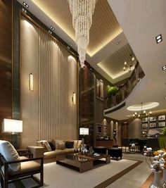 The Best Luxury Living Room Designs from Our Favorite Celebrities Mansion Interior, Luxury Homes Interior, Luxury Home Decor, Living Room Interior, Living Room Decor, Living Rooms, Modern House Design, Modern Interior Design, Dream Home Design