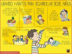 Hábitos para desarrollar desde pequeños