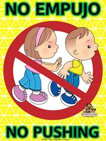 Educación Preescolar, la revista: No corro, no grito, no empujo