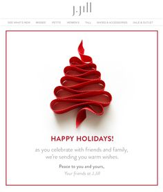 Jill : Holiday Letter More Email Christmas Cards, Christmas Newsletter, Holiday Emails, Christmas Ecard, Christmas Poster, Christmas Photos, Christmas And New Year, Web Design, Email Design