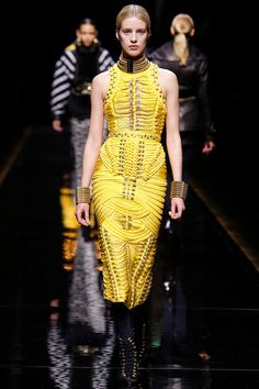 Balmain Fall 2014 RTW - Review - Fashion Week - Runway, Fashion Shows and Collections - Vogue