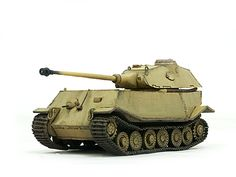 VK 4502 (P) - Porsches Prototype for the Tiger II with rear Turret (1/72) - Image 3