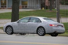 Spy Pictures of Lincoln Continental 2017 » Car Spy Photos