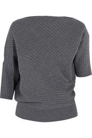 JW Anderson - Infinity ribbed merino wool sweater