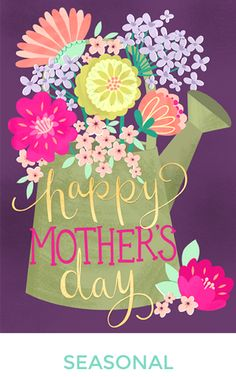 Patterns, greeting cards, seasonal artwork, and illustrations for licensing from the portfolio of freelance illustrator and pattern designer Elizabeth Silver. All images ©Elizabeth Silver Happy Mothers Day Images, Happy Mother Day Quotes, Mother Day Wishes, Mothers Day Cards, Mothers Love, Happy Birthday Wishes Cake, Happy Wishes, Birthday Greetings, Mother's Day In Heaven