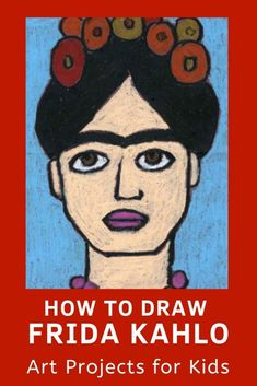Learn how to draw Frida Kahlo with this fun and easy art project for kids. Simple step by step tutorial available.