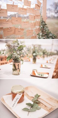 Rustic DIY wedding reception styling | Jenna Fahey-White