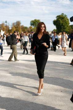 Carine Roitfeld at Paris Fashion Week #pfw #paris #streetstyle