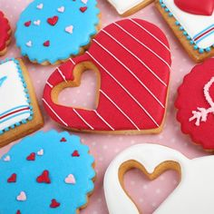 Amazing Decorated cookies for Valentine's Day