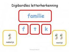 Digibord - Letterherkenning App, Education, Website, Image, Pirates, Apps, Learning, Teaching, Studying