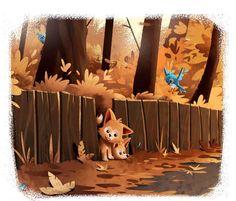Autumn Road on Behance
