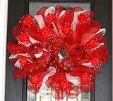 Valentine Crafts Made With Deco Mesh - Yahoo Image Search Results
