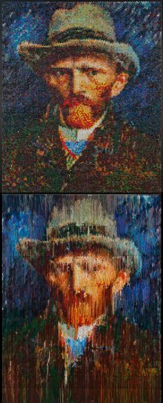 Bubble Wrap And Algorithms: Riffing On Famous Paintings