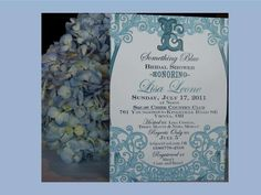 Something Blue Bridal Shower Bridal/Wedding Shower Party Ideas | Photo 1 of 7 | Catch My Party