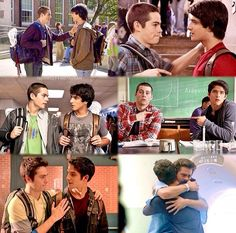 Scott & Stiles Teen Wolf Boys, Teen Wolf Cast, Dylan O'brien, Scott And Stiles, Wolf Character, Funny People Pictures, Wolf Love, Scott Mccall, I Love You All