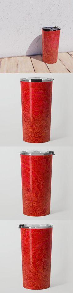 Fire Flower Mandala Travel Mug by David Zydd #MandalaTravelMug #BestTravelMugs #FloralArt #Mandala #Decor (tags: bohemian, print, design, floral design, equipment, sacred, mandala, tableware, geometry, artist, spiritual, arts, sacred geometry, art, product) Sacred Geometry, Geometry Art, Fire Flower, Mandala Artwork, Flower Mandala, Floral Design, Print Design, Travel Mugs, Mandala Design