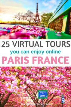 The Best Virtual Tours of Paris Landmarks and Museums Europe Destinations, Europe Travel Tips, 360 Virtual Tour, Virtual Travel, Paris Travel, France Travel, India Travel, Paris Must See, Paris Landmarks