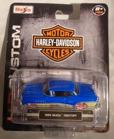 Harley Davidson Merchandise, Motor Harley Davidson Cycles, Buick Century, Old Cars, Cool Toys, Diecast, Cycling, Bike, Motorcycle