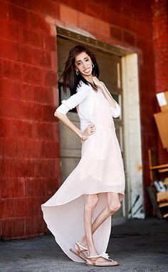 "Okay, honestly this woman right here has inspired me. She was called ""The Ugliest Woman in the World"" because of a rare disease. She went against all odds and displayed what true beauty is through her example. Seriously, everyone needs to know about Lizzie Velasquez. She has changed my view on everything. I love her."