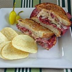 Reuben Sandwich II Dinner last night and my lunch today! Delicious! #myallrecipes