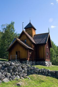 Stabkirche von Uvdal (norwegisch Uvdal stavkirke)