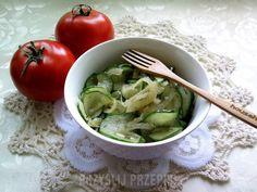 Ogórki smażone z cebulą Sprouts, Spinach, Vegetables, Food, Essen, Vegetable Recipes, Meals, Yemek, Veggies