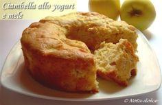 Ciambella allo yogurt e mele, ricetta dolce senza burro