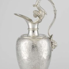 Ewer and basin with the arms of Vlissingen, attributed to Jacques Bogaert, 1608 - Rijksmuseum