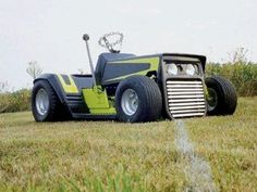 Cool lawn mower! Share photos of your projects with us: http://www.facebook.com/smallengineparts