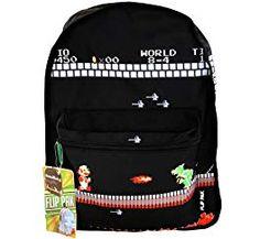 28fe5fe20a Nintendo Classic Super Mario Bros Reversible Backpack Review Super Mario  Bros
